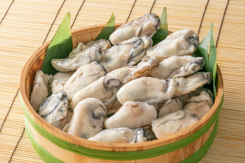 冷凍ムキ牡蠣 1kg 【冷凍】